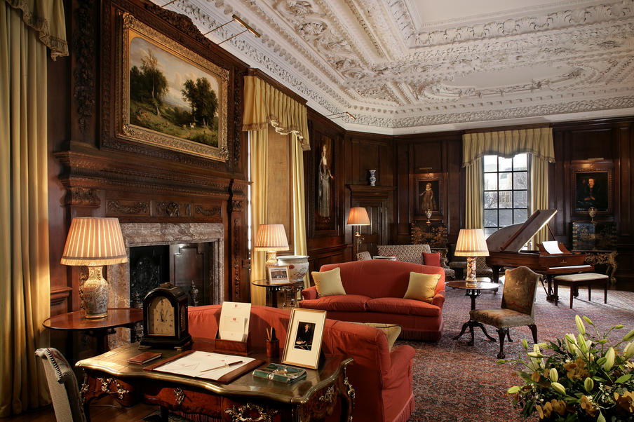 The West Drawing Room at the Palace of Holyroodhouse