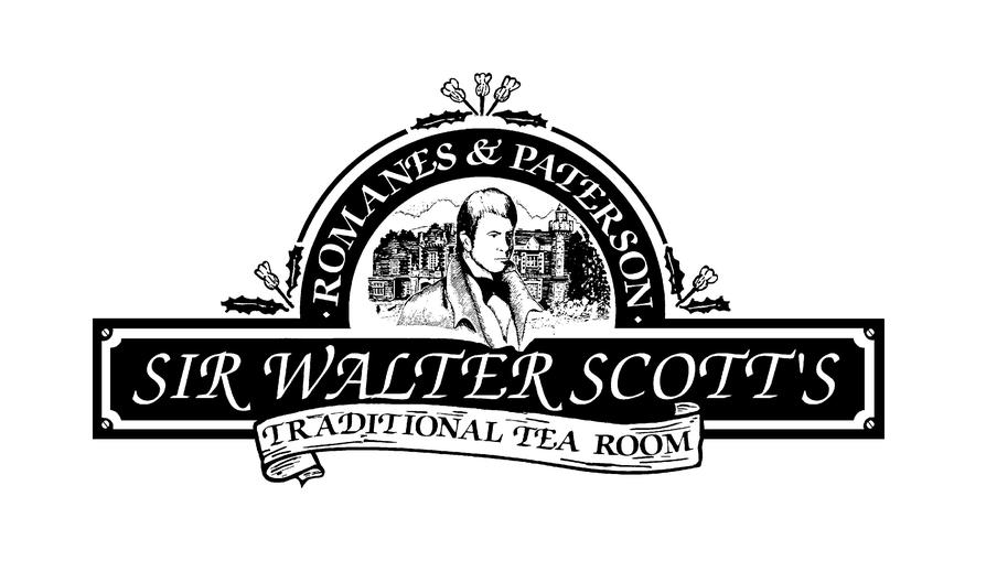 Logo for Romanes & Paterson - Sir Walter Scott's Tearoom.