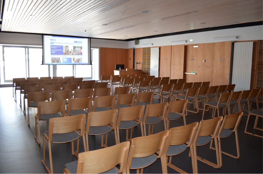 top of the range technology in first class surroundings with a range of conferencing spaces.