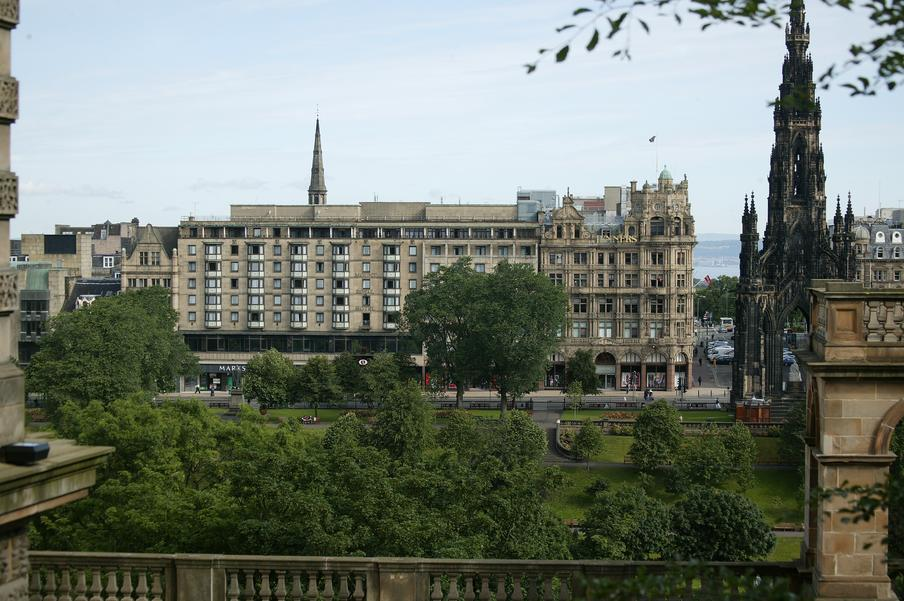 Exterior view mercure princes street hotel