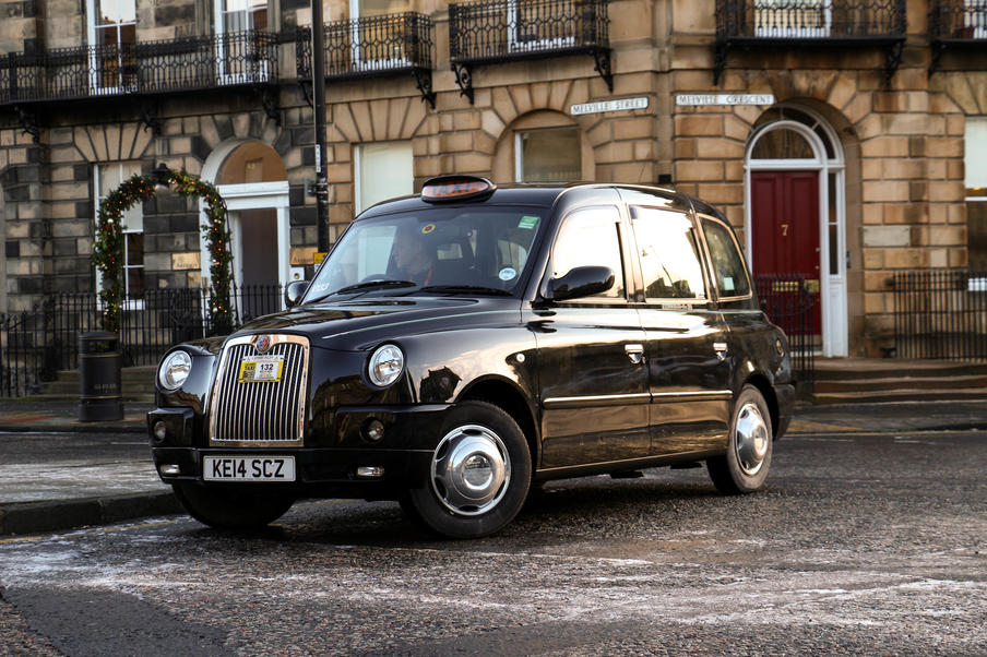 City Cabs Edinburgh Ltd taxi.