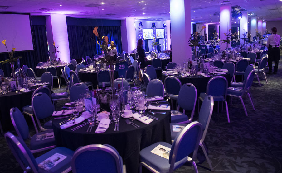 West Stand set for formal dinner