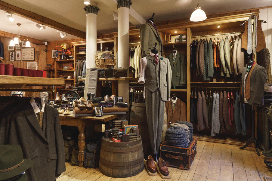 Walker Slater Menswear Tweed & Tailoring