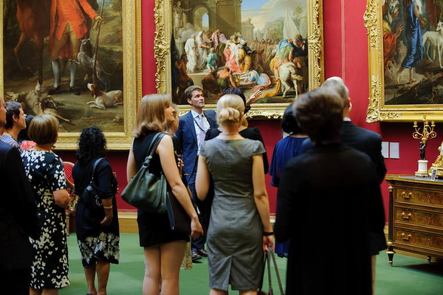 Exclusive out of hours tours can be arranged at any of the gallery venues and exhibitions