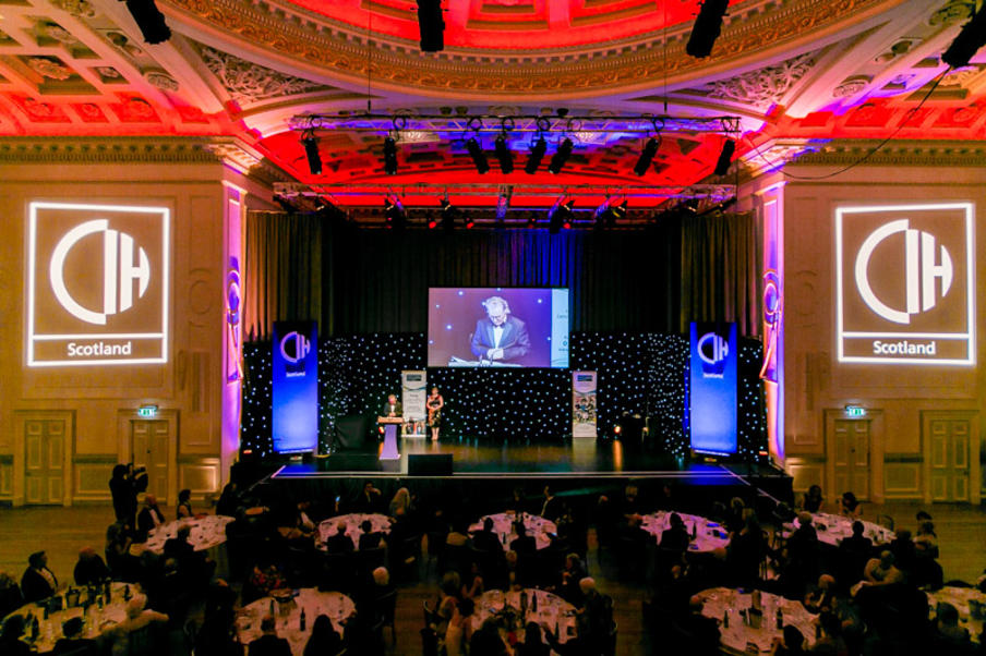 Awards Dinner in Music Hall, Assembly Rooms