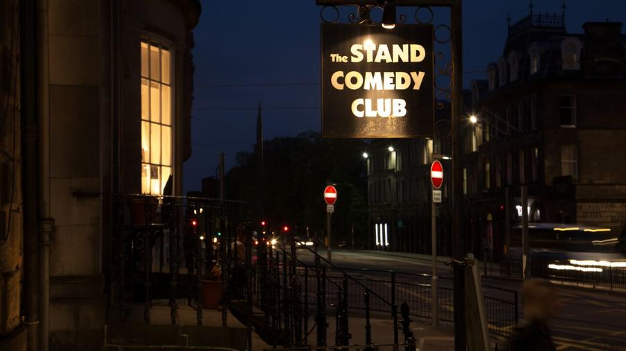 The Stand Comedy Club situated in the new town is a 150 capacity purpose built comedy club.
