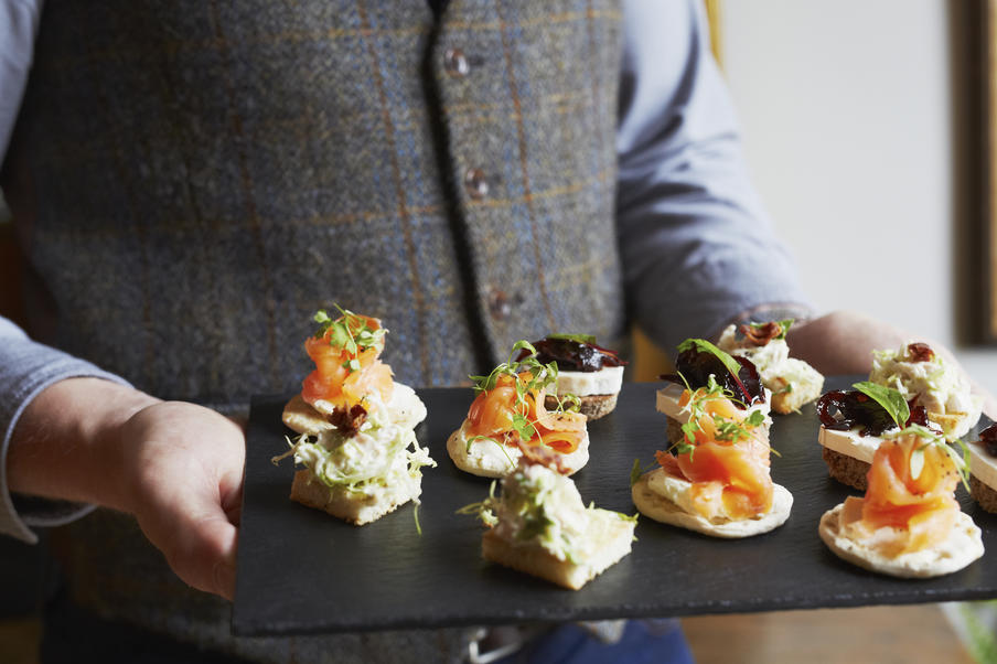 The Dunstane House Canape Selection