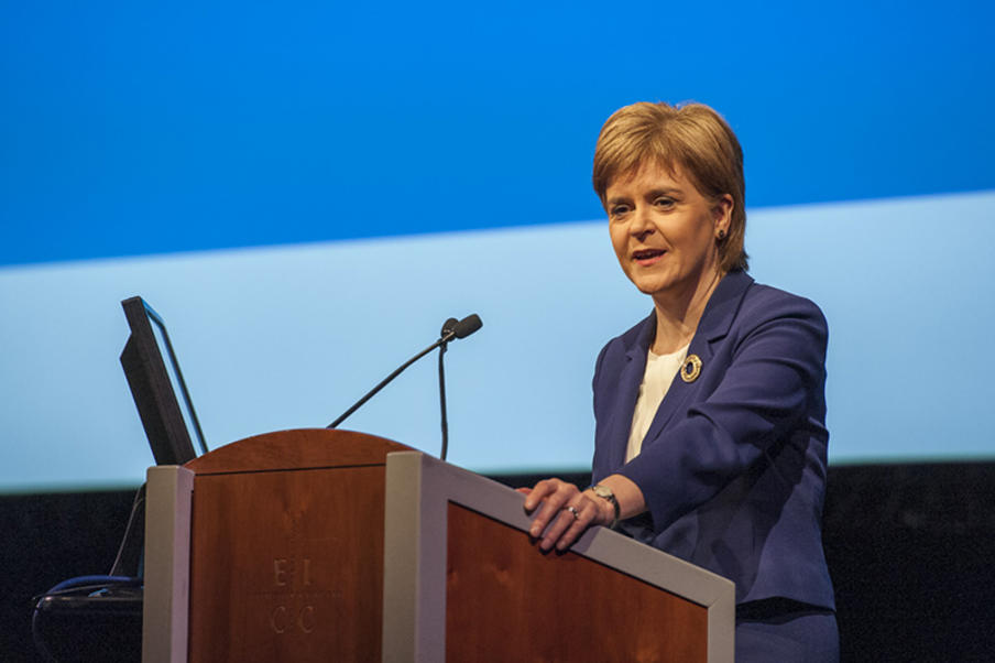 First Minister Nicola Sturgeon opens the Global Alcohol Policy Conference at EICC