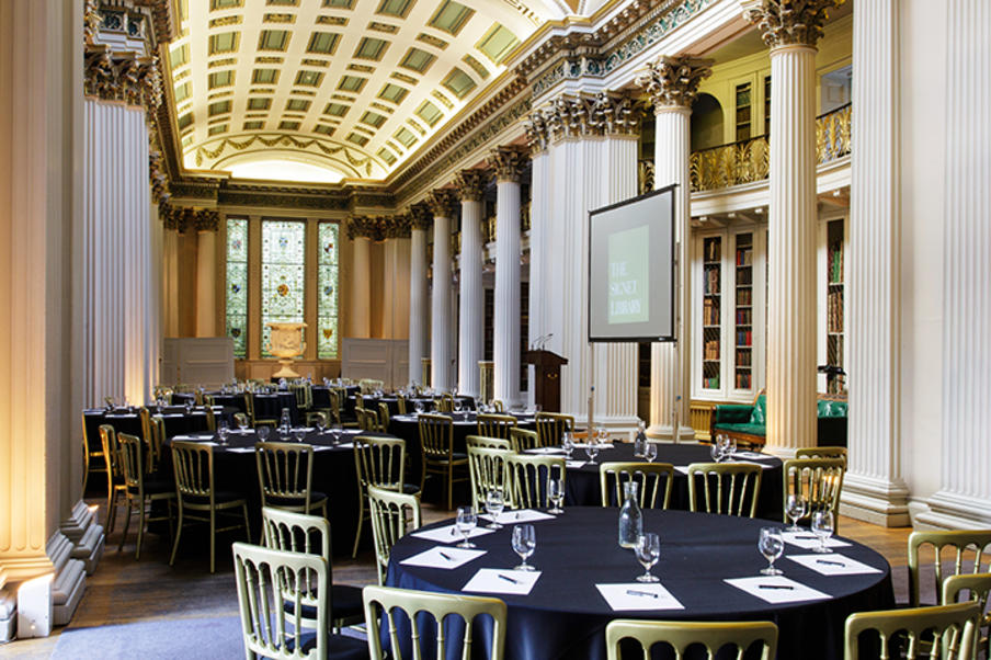 Conferences and meetings at the Signet Library, Edinburgh