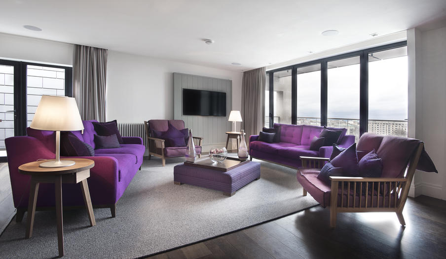 When it comes to amazingly spacious and beautifully decked-out, our Three Bedroom Penthouse is the cream of the crop.