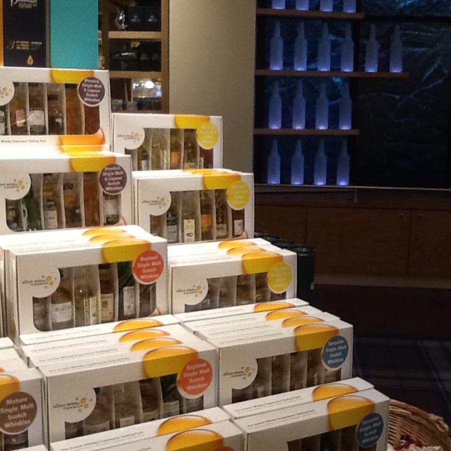 Scotch Whisky Shop Mini Pack Display