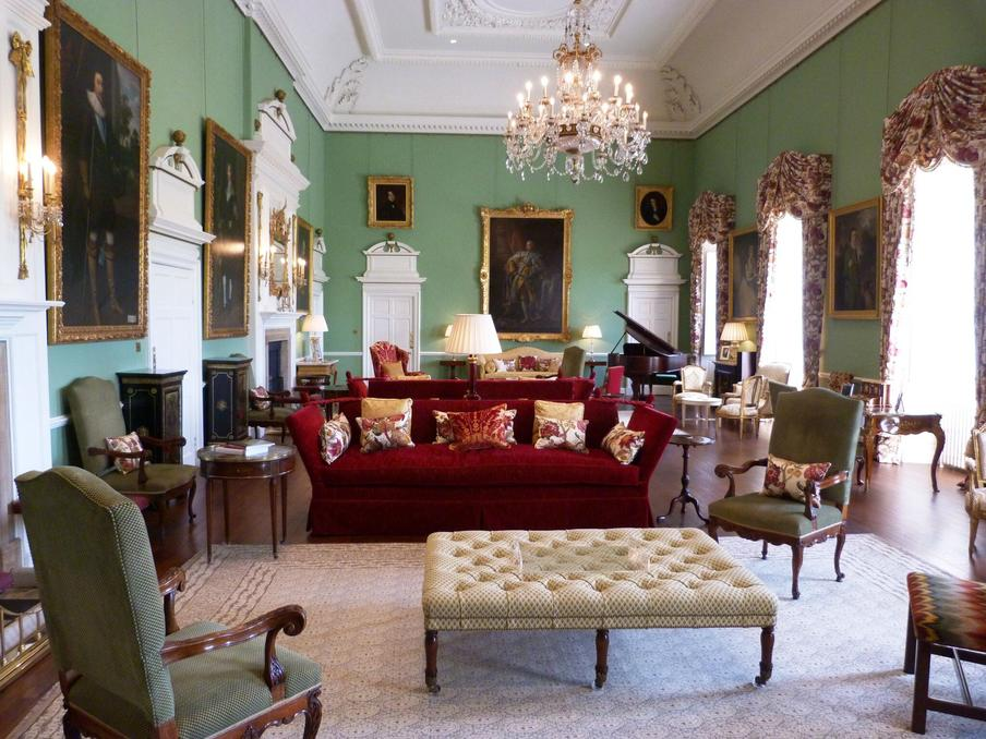 Day view of Grand Salon, Kinross House