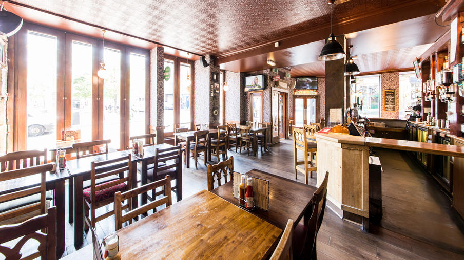 The Fiddler Arms Seating Area