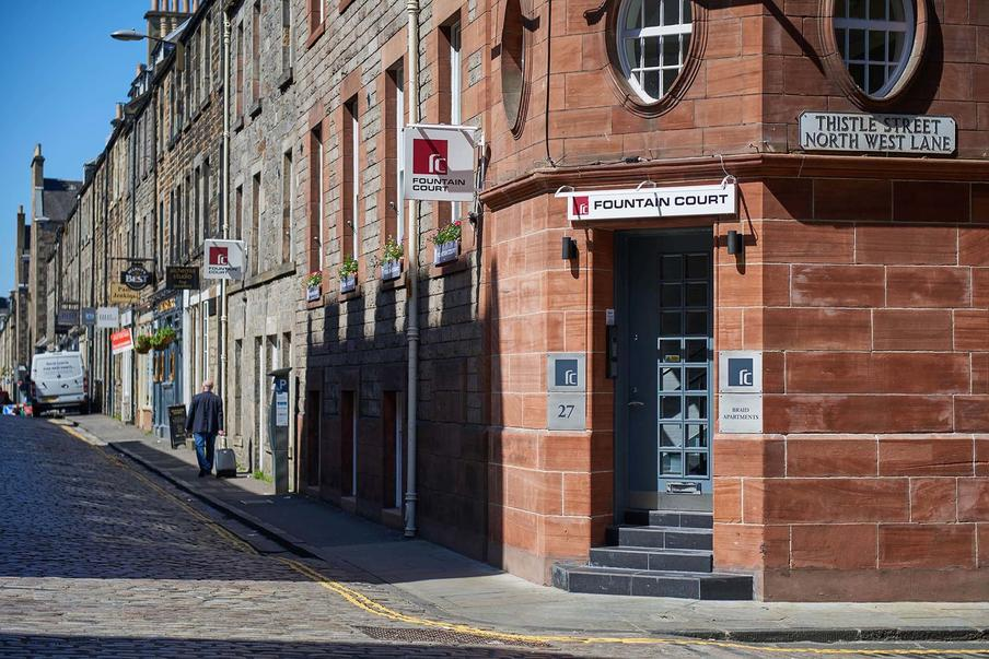 Our newest property is located on the beautifully cobbled Thistle Street.