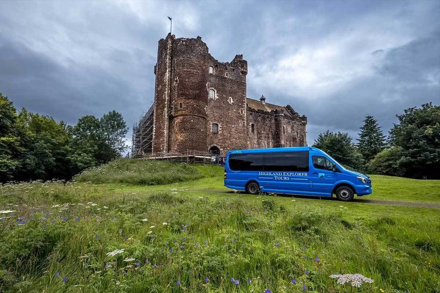 Doune Castle, a film location for Outlander and Game of Thrones.